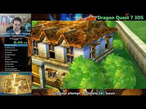 Dragon Quest 7 3DS speedrun WR in 23:29:43 - Part 1