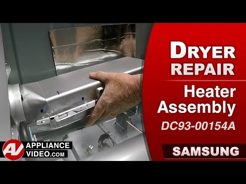 Samsung  Dryer – HE Error code – Heater Assembly repair & Diagnostic