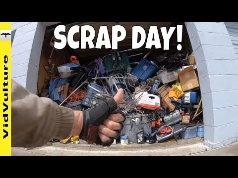 Scrap'n On A Scooter - 6 Loads To Scrap Yard