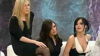 Russian show Pust Govoryat (Guests: Dmitriy Koldun, Serebro)