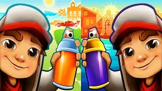 Subway Surfers MONACO vs BUENOS AIRES - Android Gameplay For Children HD