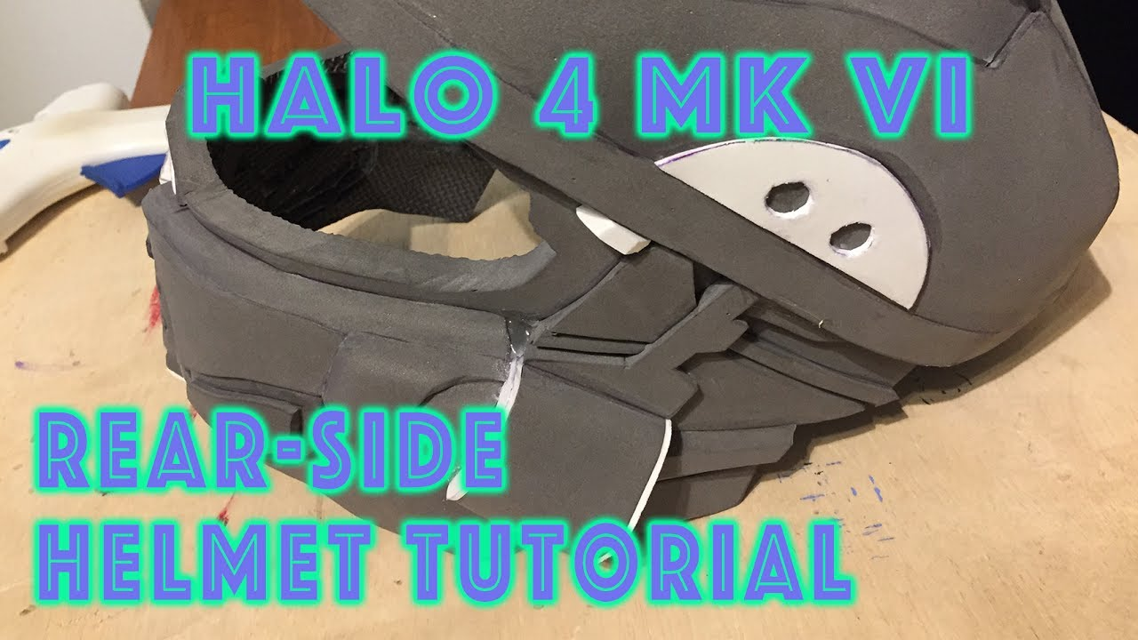 Halo 4 Mark VI EVA FOAM Helmet Tutorial Part 5