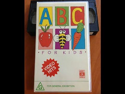 Opening to ABC For Kids - Video Hits 1991 VHS (Australia)