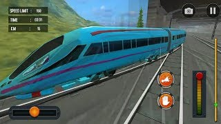 TRAIN GAME SIMULATOR 2019 #001 - Train Games Android GamePlay #w | Train Games Video For Children