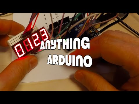 0-9 Counter by Interfacing 7 Segment Display with Arduino