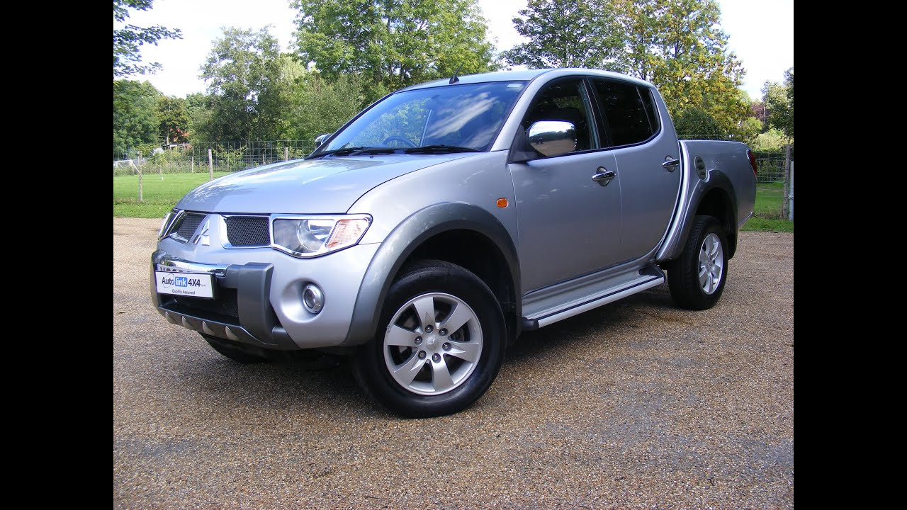 2008 mitsubishi l200 2 5 did diamond double cab for sale in kent youtube. Black Bedroom Furniture Sets. Home Design Ideas