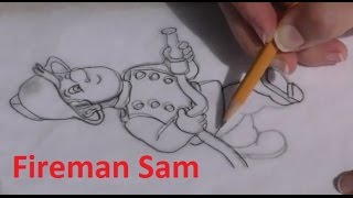 Draw Fireman Sam - in Chocolate