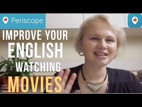 How to improve your English watching Movies Films