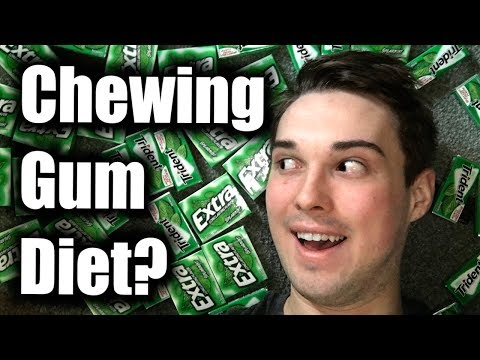 How To Lose Weight With Chewing Gum | Chewing Gum Diet