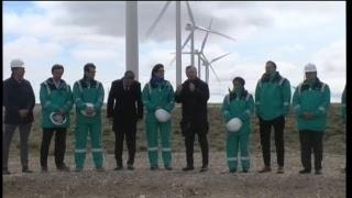 El presidente Mauricio Macri encabeza la inauguración del Parque Eólico de Manantiales Behr