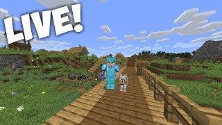 Minecraft | 1.14 Survival Chatting & Exploring