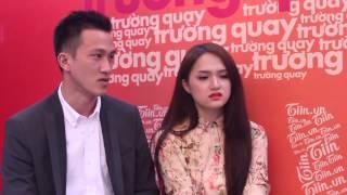 Trường quay Tiin: Criss khó chịu khi Hương Giang xem ảnh Kim Lý
