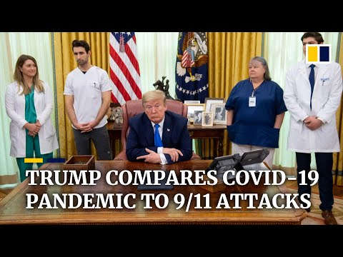 US President Donald Trump says Covid-19 pandemic 'worse than 9/11 attacks'