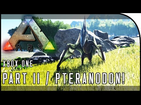 """ARK: Survival Evolved XBOX ONE GAMEPLAY - """"PTERANODON TAMING & METAL!!!"""" (Part 11)"""