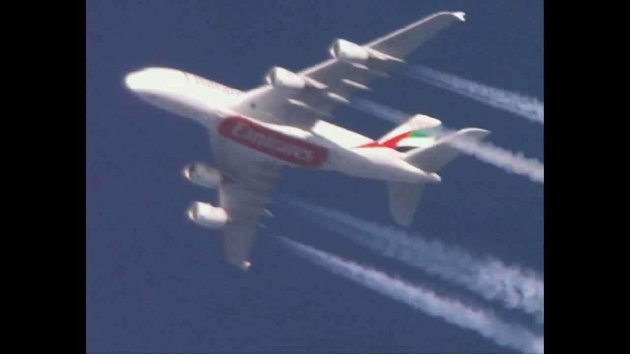 airplanes filmed with telescope 2012 march hd youtube