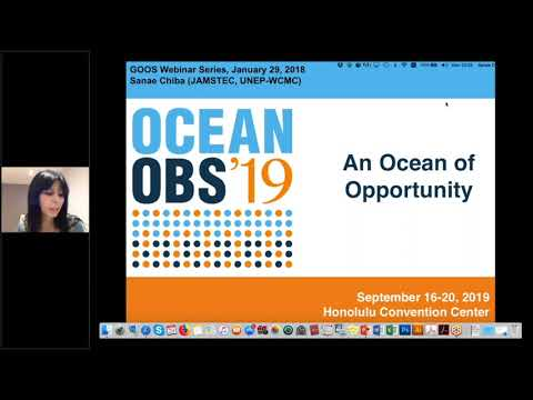 OceanObs'19 - and Ocean of Opportunity by Sanae Chiba