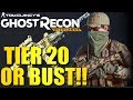 GHOST RECON WILDLANDS - Farming Tier Points at Tier 20 - Tier One