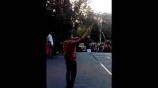 Yc Gujjar Performing Gujjar Biradri Live At Satywati college Rocking Crowd -2015.03.03