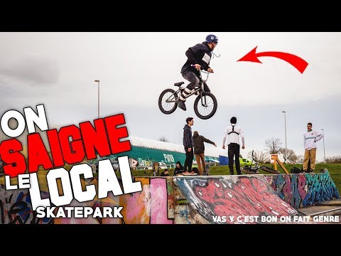 DES BEST TRICKS AU LOCAL SKATEPARK EN BMX ! + MFT #5