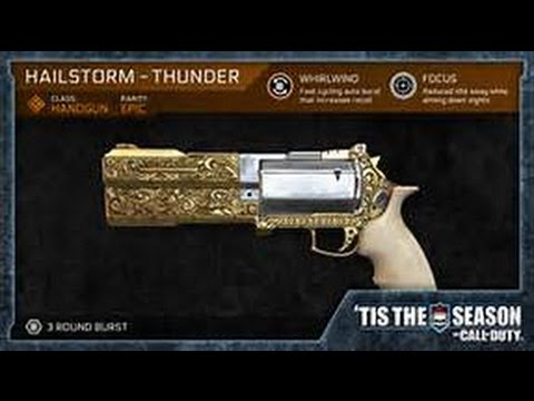 Iw How To Get A Free Weapon Hailstorm Thunder Pistol Free To Get