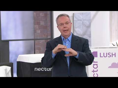 "nectar-lush-12""-premium-memory-foam-mattress-on-qvc"