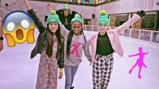 Ice Skating Fails With Familia Diamond and Bonnie