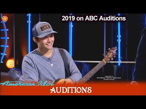 Laine Hardy Comes Back As Guitarist Gets Golden Ticket To Hollywood | American Idol 2019 Auditions