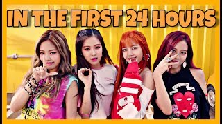 top 10 most viewed kpop group music videos in 24 hours