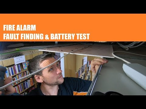 FIRE ALARM Unit - Fault Finding And Battery Test | Thomas Nagy