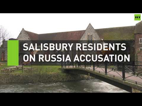Salisbury residents react to May\'s Russia accusation