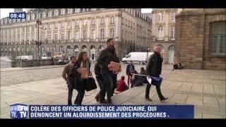 LA GROGNE DES OFFICIERS DE POLICE JUDICIAIRE