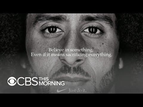 Mixed Reaction To Colin Kaepernick S Nike Campaign Youtube