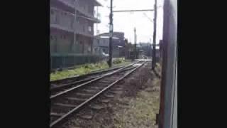 豊橋鉄道渥美線小池駅で上りの電車を撮影しました! 入ってくるところの...