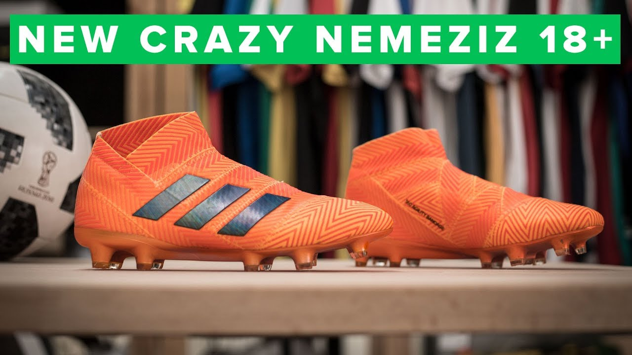 adidas Nemeziz 18+ Tech Talk  football boots made of TAPE