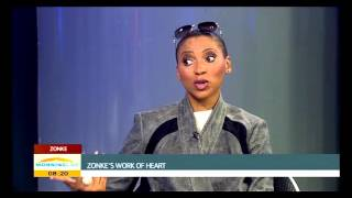 "Zonke Dikana on her latest album ""Work Of Heart"""