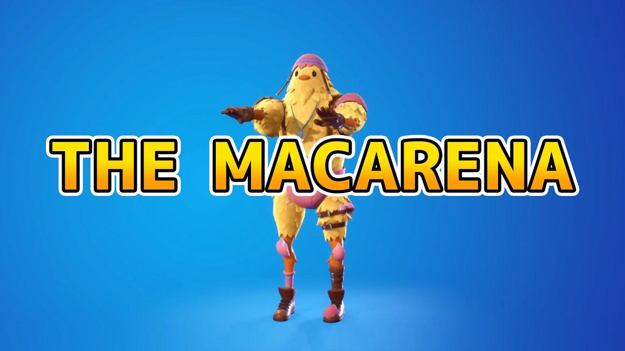 THE MACARENA【フォートナイトエモート】【Fortnite】