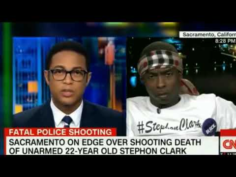 Stevante Clark faces off with Don Lemon about his brother Stephon Clark