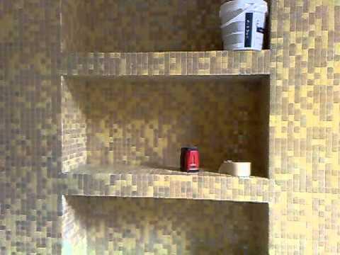 Bagno in mosaico bisazza 2 youtube - Bagno mosaico rosso ...