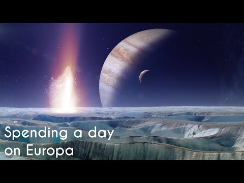 Spending a day On Europa