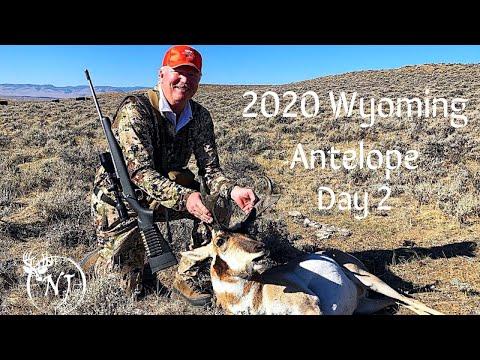 Wyoming Public Land Antelope 2020 (Day 2