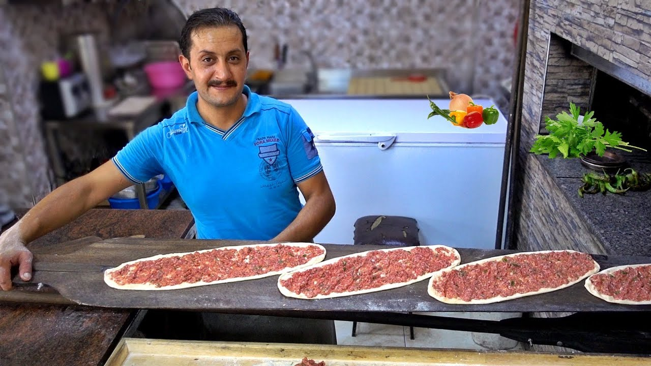 Turkish Pide Lahmacun Kebap Recipe Turkish Pizza Traditional Food