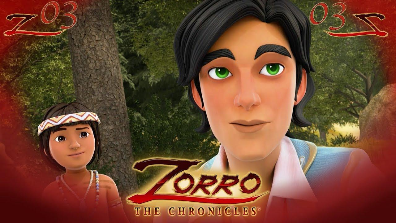 Le Retour Les Chroniques De Zorro Episode 3 Dessin De Super