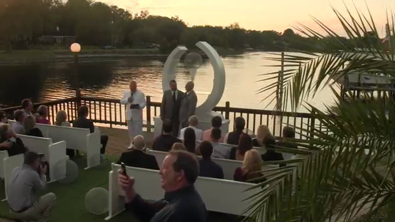 Cherished Ceremonies Weddings Tampa Wedding: Amazing Tampa Gay Wedding Ceremony