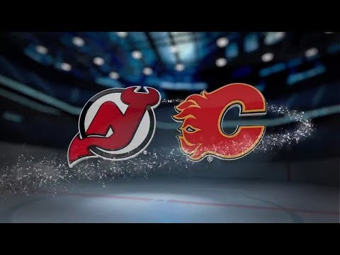 New Jersey Devils vs Calgary Flames – November 05, 2017 | Game Highlights | NHL 2017/18 Обзор