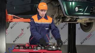 Instalar Pastilhas De Travão dianteiro e traseira HONDA CR-V I (RD): vídeo grátis