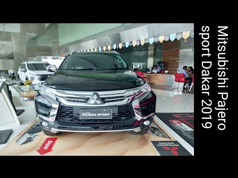 Review Mitsubishi Pajero sport Dakar 2019 - Indonesia