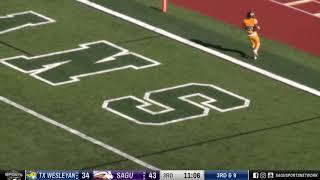 Texas Wesleyan vs SAGU (Second Half) » NAIA Football 2018