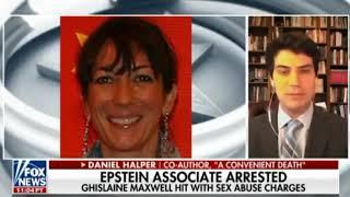 High Profile Arrest of Ghislaine Maxwell