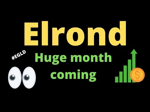 EGLD price discovery mode💲💲Elrond Best crypto for January🚀El