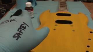 Gibson SG Standard Refinish: Tru-Oil